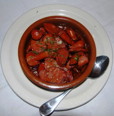 Chorizo In Red Wine Sauce
