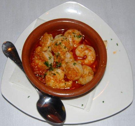 Shrimp in gralic sauce
